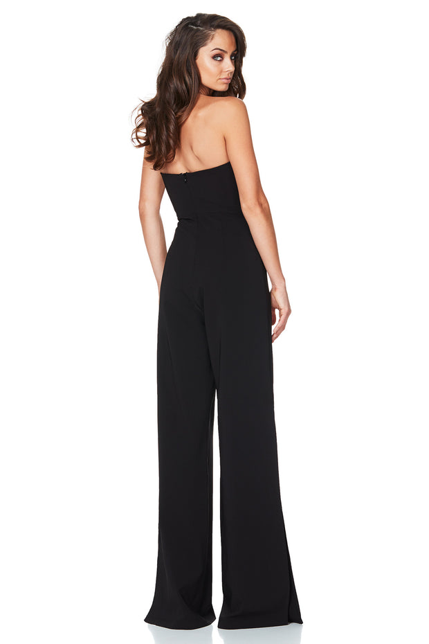 Nookie Glamour Jumpsuit - Black - SHOPJAUS - JAUS