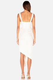 Misha Collection Nyrella Midi Dress - Ivory - SHOPJAUS - JAUS