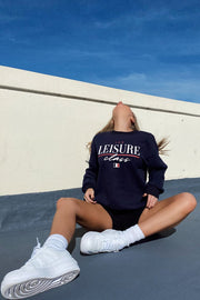 Leisure Class Sweater - Navy