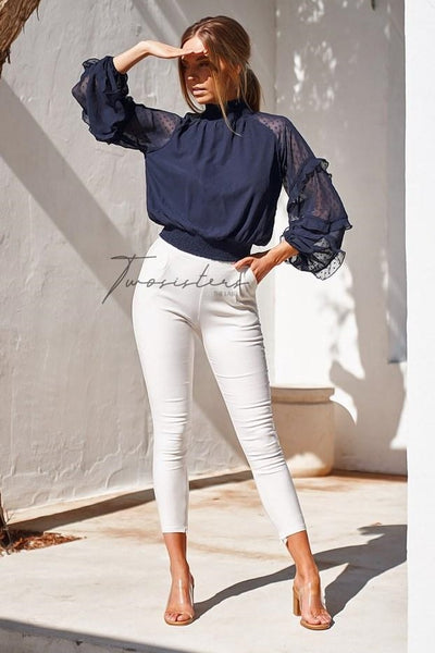 Piper Top - Navy - SHOPJAUS - JAUS