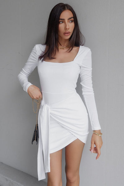 Sofia Dress - White