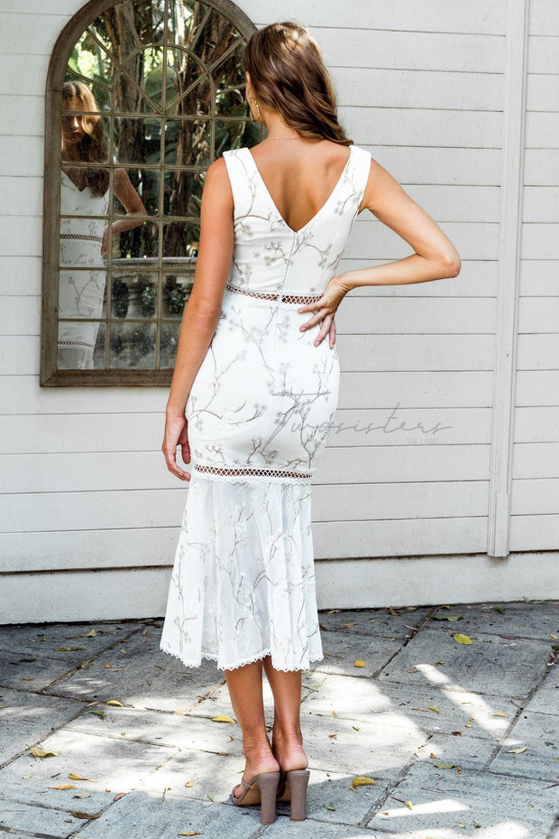 Sakura Dress - White - SHOPJAUS - JAUS