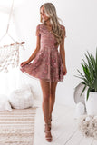 Saskia Dress - Rose