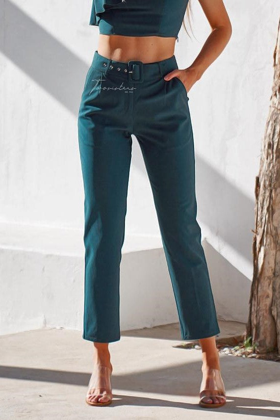 Shannon Pants - Green - SHOPJAUS - JAUS
