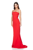 Nookie Angelina Gown - Cherry - SHOPJAUS - JAUS