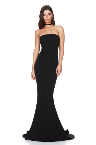 5a595f19988 Nookie Angelina Gown - Black