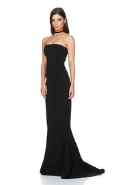 Nookie Angelina Gown - Black - SHOPJAUS - JAUS