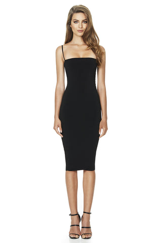 e1944d91ae1 Nookie Charlize Strap Midi Dress - Black