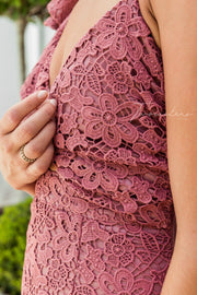 Sophia Dress - Mauve - SHOPJAUS - JAUS
