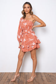 Tampa Dress - Rust