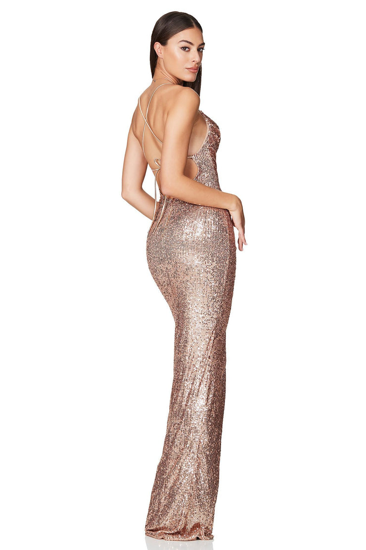 Nookie Cosmo Gown - Gold