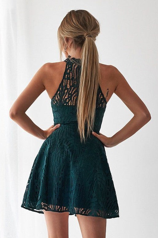Tara Dress - Emerald Green - SHOPJAUS - JAUS