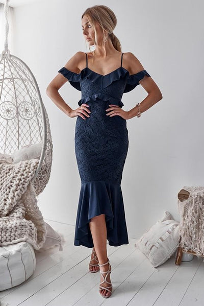 Taylor Dress - Navy - SHOPJAUS - JAUS