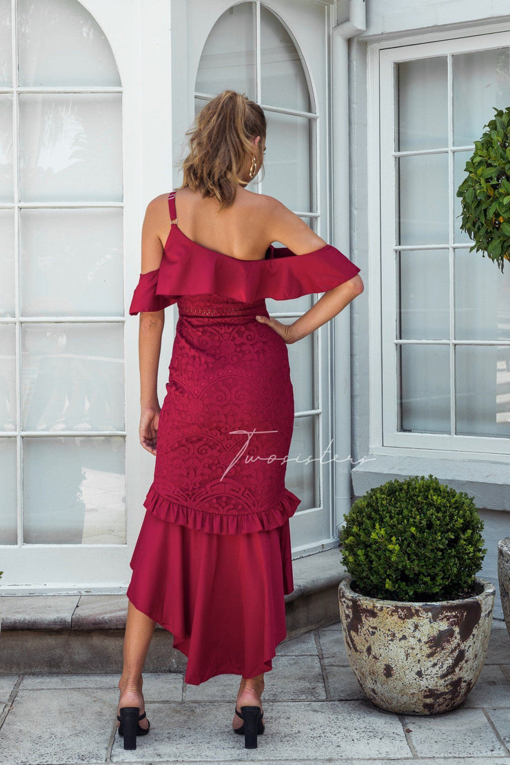 Victoria Dress - Red