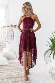Hazel Dress - Burgundy - SHOPJAUS - JAUS