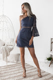 Elysian Dress - Steel Blue - SHOPJAUS - JAUS