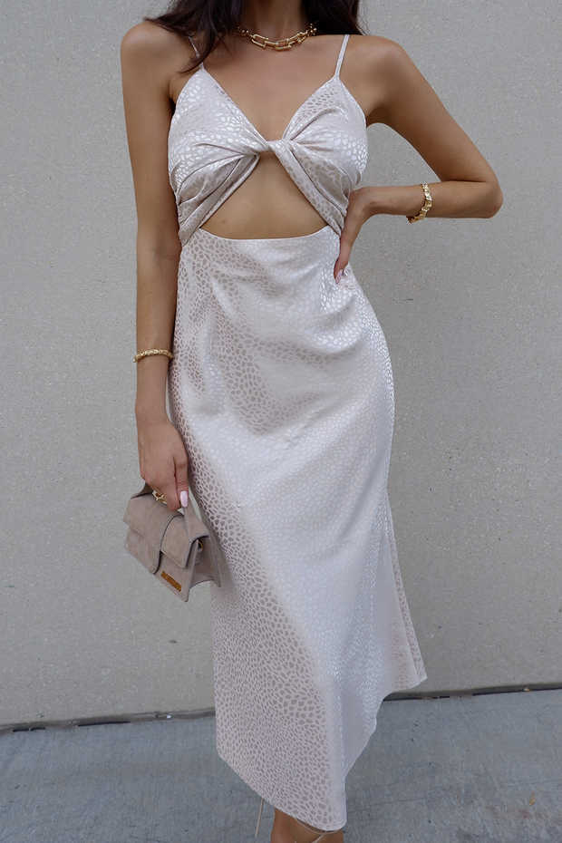 Versa Slip Dress - Champagne