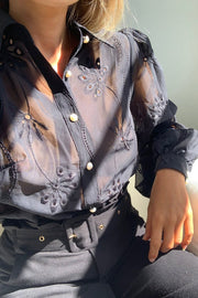 Eloise Blouse - Black