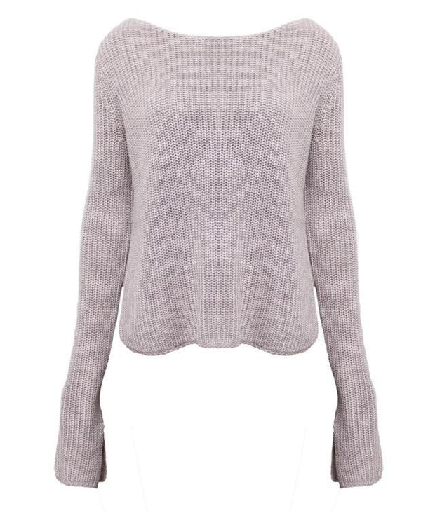 Isla Sweater - Blush - SHOPJAUS - JAUS