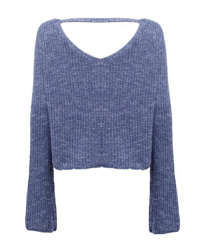 Isla Sweater - Navy - SHOPJAUS - JAUS