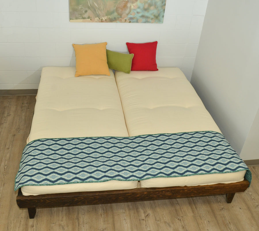 Natural Mattress Bed Frame Deluxe Platform Bed Frame