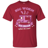 Big Worm Ice Cream T-Shirt