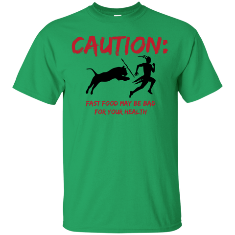 Caution Fast Food T-Shirt