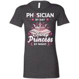 Physician By Day Princess By Night Ladies Favorite T-Shirt