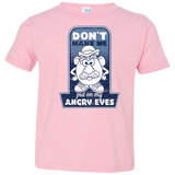 Angry Eyes Toddler Jersey Tee