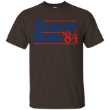Reagan Bush 84 Presidential Election Vintage Style T-Shirt