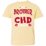 My Brother Is A CHD Warrior Youth Jersey Tee