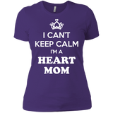 Heart Mom Ladies' Boyfriend Tee