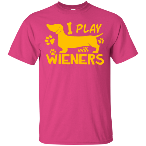 Play With Wieners Gold Version T-Shirt
