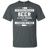 Beer Opinion White Version T-Shirt