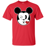 Mouse Love Emoji T-Shirt