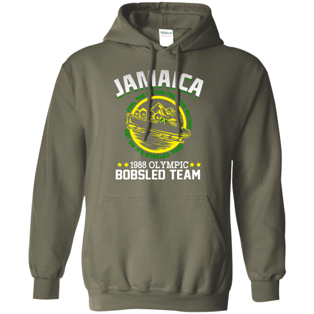 Jamaican Bobsled Pullover Hoodie