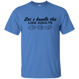 Let's Handle This Like Adults Rock Paper Scissors T-Shirt