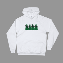The Evergreen Pullover- White