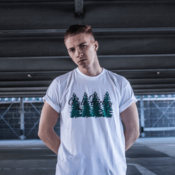 Kyle Hickey Evergreen Tee- White