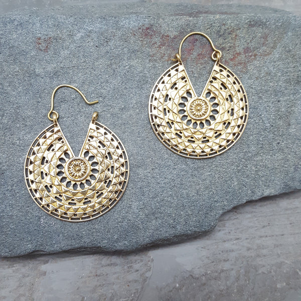 Basket Weaver Earrings