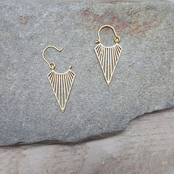 Small Prism Earrings