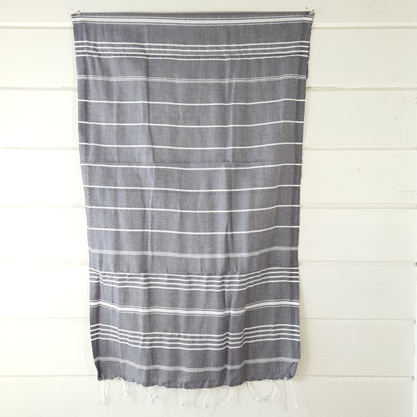 Sultan Hand Towel in Grey