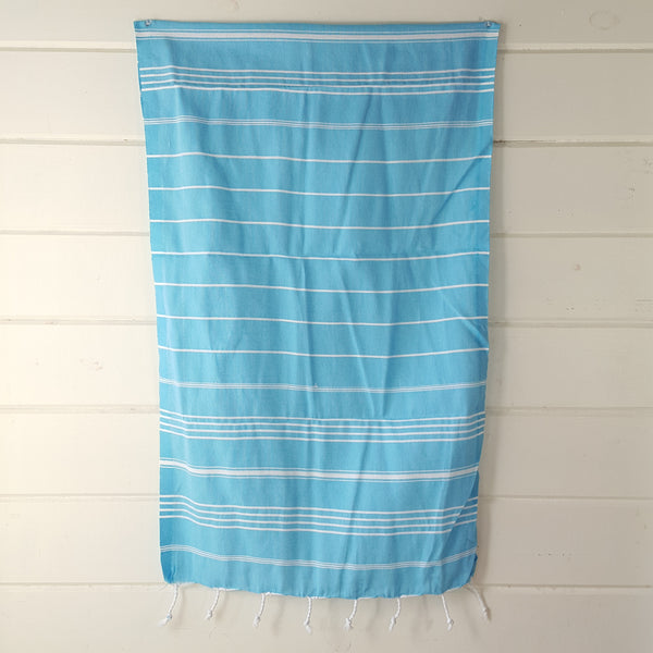 Sultan Hand Towel in Turquoise