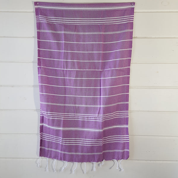 Sultan Hand Towel in Purple