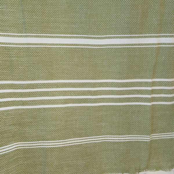 Close up of Sultan Hand Towel in Light Green