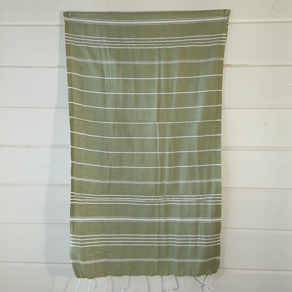 Sultan Hand Towel in Light Green