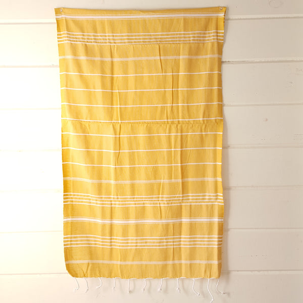 Sultan Hand Towel in Yellow