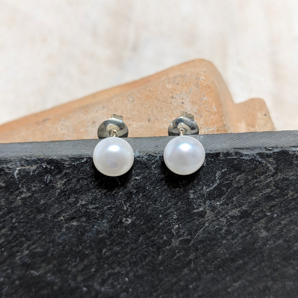 Pearl Studs second view