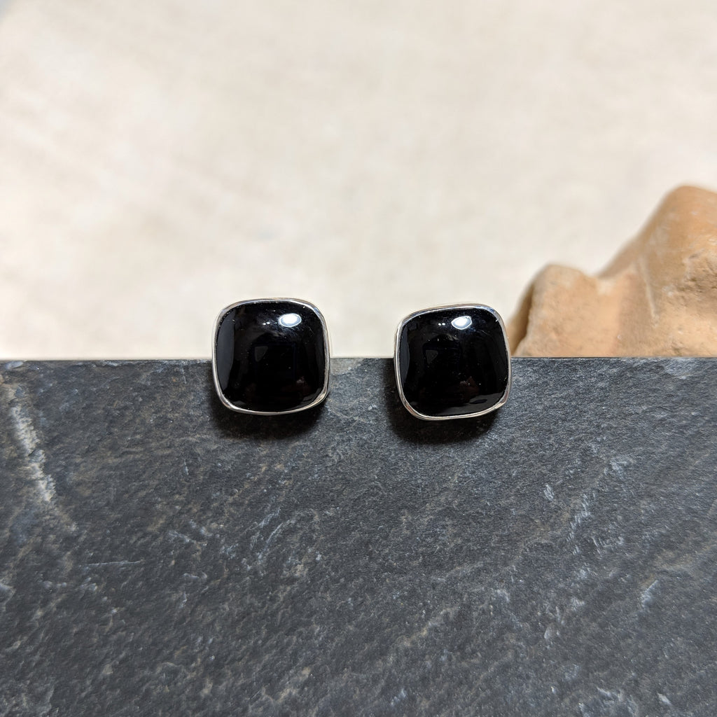 Onyx Studs front