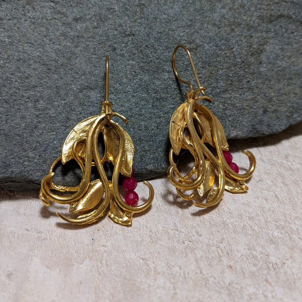 back of in the garden earrings
